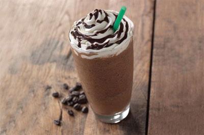 Como fazer frappuccino de chocolate do Starbucks