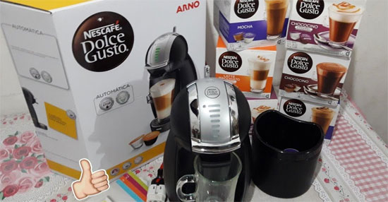 Cafeteira Dolce Gusto Genio 2