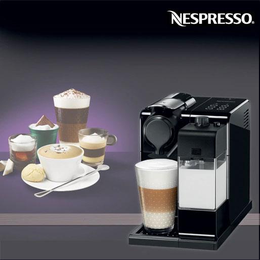 Cafeteira Nespresso Lattissima Touch