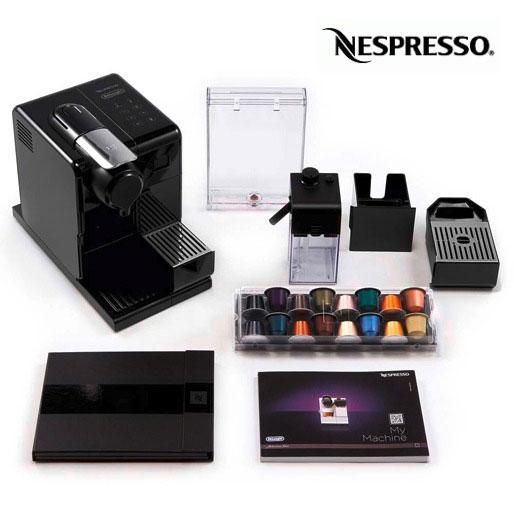 Cafeteira Nespresso Lattissima Touch cápsulas
